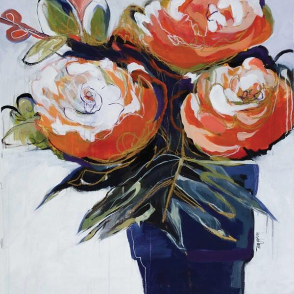 A Pot Of Blooms