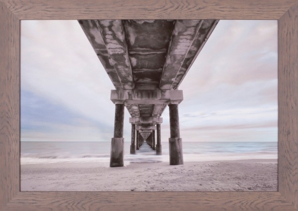 Beneath The Outer Banks Beach Pier