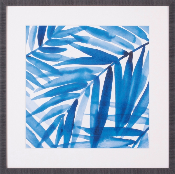 Blue Palm Design II