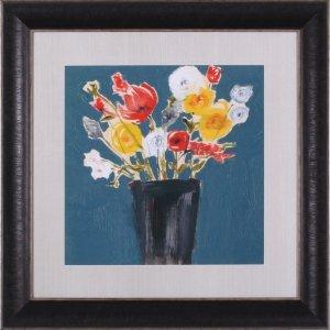 Bouquet On Teal II