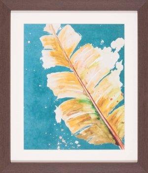 Palma Fresca On Teal