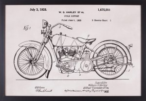 Patent Motorcycle