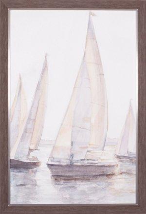 Plein Air Sailboats I