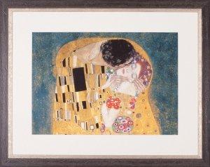The Kiss, Detail