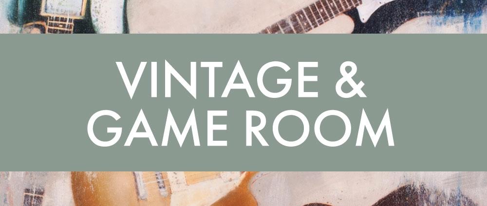 Vintage & Gameroom